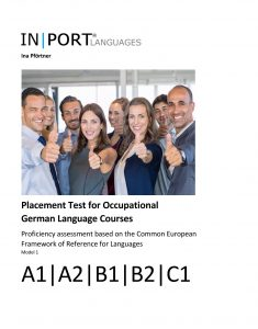 Cover of the book Placement Test Occupational German