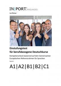 """Cover des Werkes """"Einstufungstest für berufsbezogene Deutschkurse"""""""