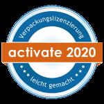 Activate by Reclay Logo 2020 für Verpackungslizenzierung